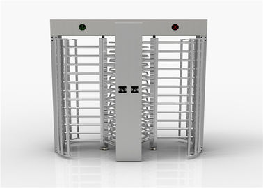 Cina Entrance Control Security Full Height Turnstile Turn Style Door Dengan Double Passage pemasok
