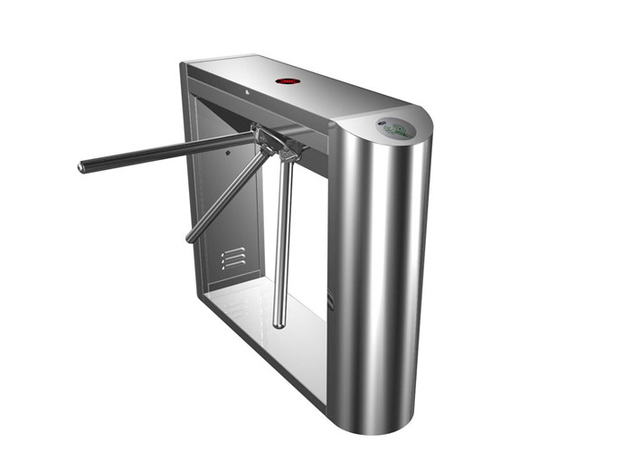 Electric Pedestrian Control Tripod Turnstile Gate With RFID Card Reader