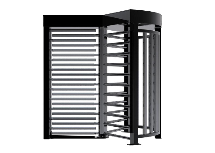 Stadium Waterproof Full Height Turnstile Speed Gates With Push Button Control
