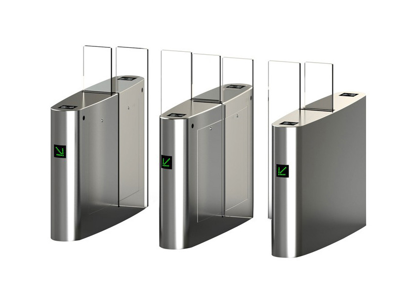 Full Height Access Control Turnstiles Automatic Smart DC Brushless Motor 30 Watt